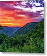 Heaven's Gate - West Virginia - Paint Metal Print