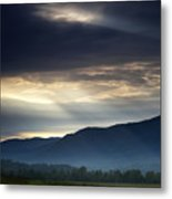 Heaven's Light Metal Print by Andrew Soundarajan