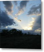 Heavens Light Metal Print by Rosalie Klidies
