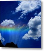Heavens Rainbow Metal Print