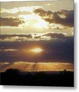 Heaven's Rays 2 Metal Print