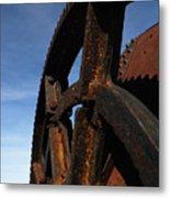 Heavy Machinery Metal Print