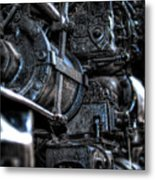 Heavy Piston Metal Print by Scott Wyatt