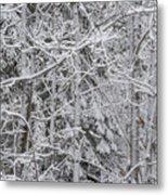 Heavy Snow Metal Print