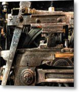Heavy Wheel Metal Print