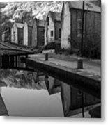 Rochdale Canal, Yorkshire, England Metal Print
