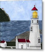Heceta Head Oregon Metal Print