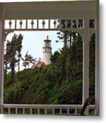 Heceta Lighthouse Metal Print