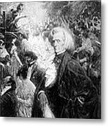Hector Berlioz, French Composer Metal Print
