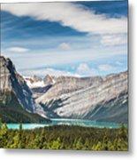 Hector Lake, Canadian Rockies Metal Print