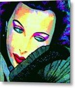 Hedy Lamarr Metal Print