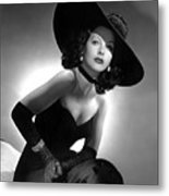 Hedy Lamarr Metal Print by Everett