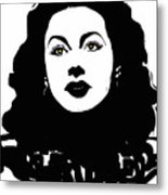 Hedy - Touching The Sublime Metal Print