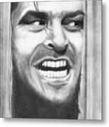 Heeeres Johnny Metal Print