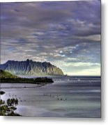 He'eia And Kualoa 2nd Crop Metal Print