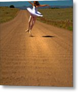 Heel Clicks On The Washboard Metal Print