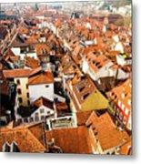 Heidelberg Cityscape Metal Print