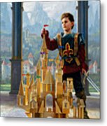 Heir To The Kingdom Metal Print by Greg Olsen