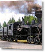 Heisler Steam Engine Number 6 Metal Print