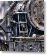 Heisler Steam Engine Metal Print