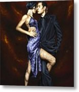 Held In Tango Metal Print