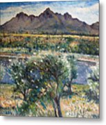 Helderberg Clearmountain Cape Town South Africa Metal Print