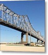 Helena Arkansas Bridge 2 Metal Print