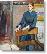 Helene Rouart Metal Print by Edgar Degas
