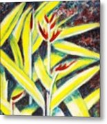 Heliconia 2 Metal Print