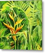 Heliconia 8 Metal Print