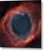 Helix Nebula Metal Print by Charles Warren