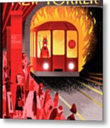 Hell Train Metal Print