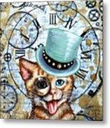 Hello Kitty Metal Print