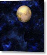 Hello Pluto Metal Print