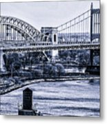 Hells Gate Bridge Triborough Bridge  Metal Print