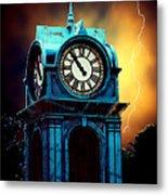 Hells Timeclock Metal Print