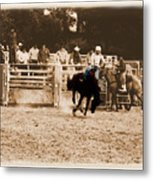 Helluva Rodeo-the Ride 2 Metal Print