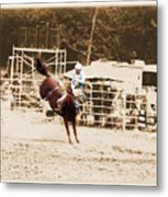 Helluva Rodeo-the Ride 3 Metal Print