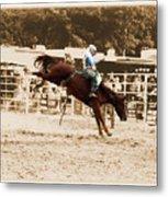Helluva Rodeo-the Ride 4 Metal Print