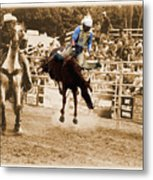 Helluva Rodeo-the Ride 5 Metal Print