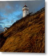 Helnaes Lighthouse Metal Print