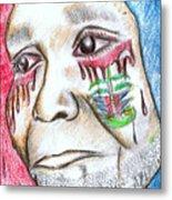 Help Haiti  For A Better Future  Metal Print