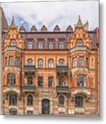 Helsingborg Building Facade Metal Print