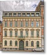 Helsingborg Building Frontage Metal Print