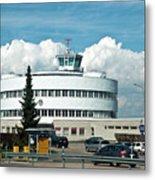 Helsinki - Malmi Airport Building Metal Print