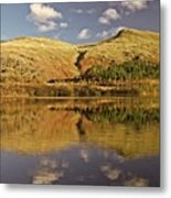 Helvellyn Mountain Reflections Metal Print