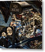 Hemi Engine Metal Print