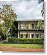 Hemingway House, Key West, Florida Metal Print