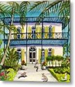 Hemingway's Home Key West Metal Print