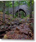 Hemlock Bridge Metal Print